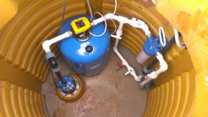 погружной насос 2 300x169 Монтаж оборудования на скважине